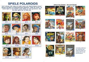 Spiele Polaroids - Die Auflösung